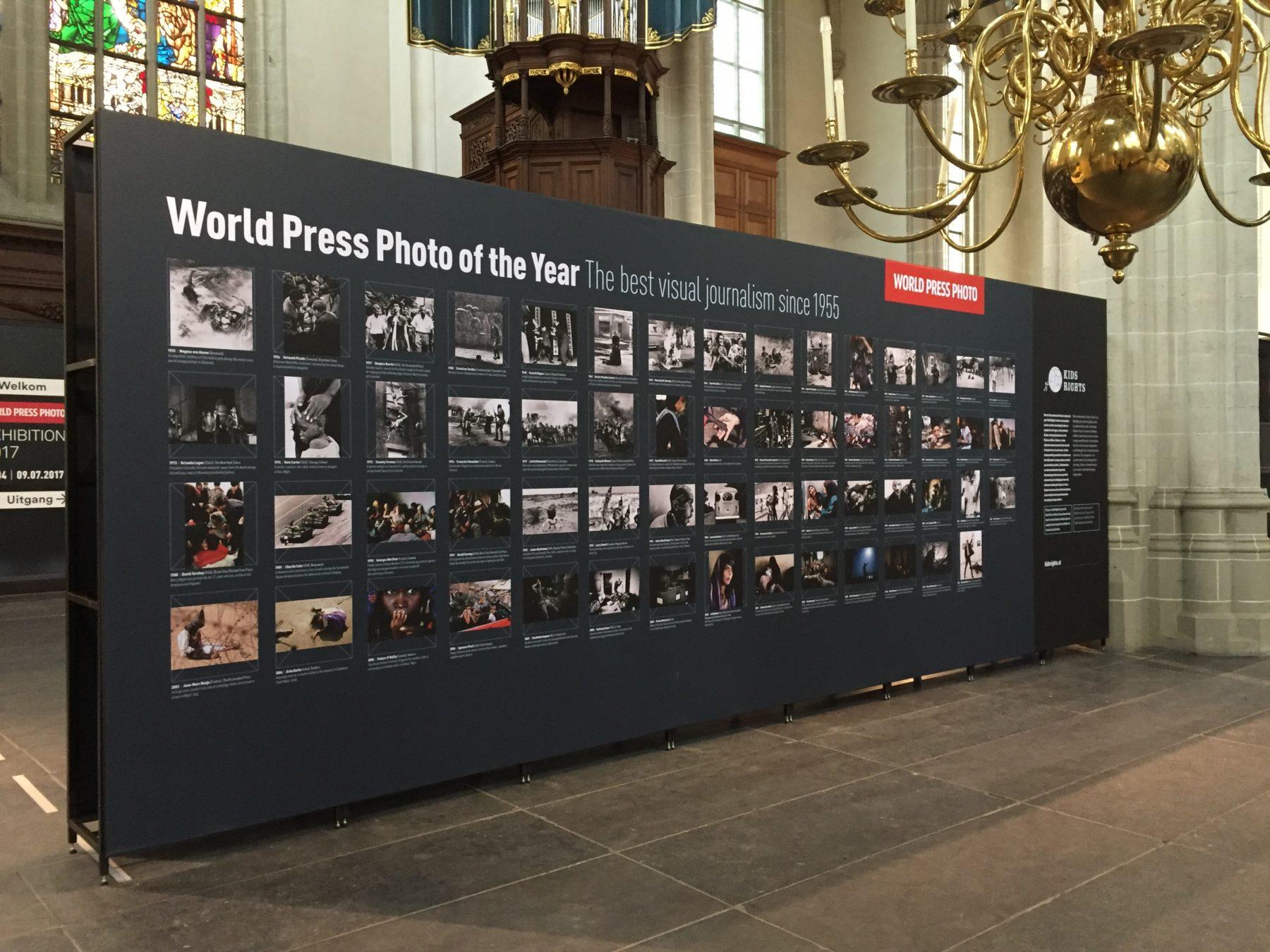 De Nieuwe Kerk, Amsterdam | World Press Photo tentoonstelling