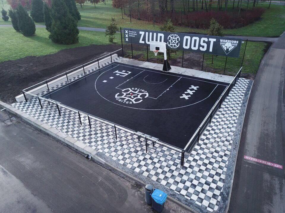 3x3unites   Basketbalveld, Amsterdam Zuid-Oost