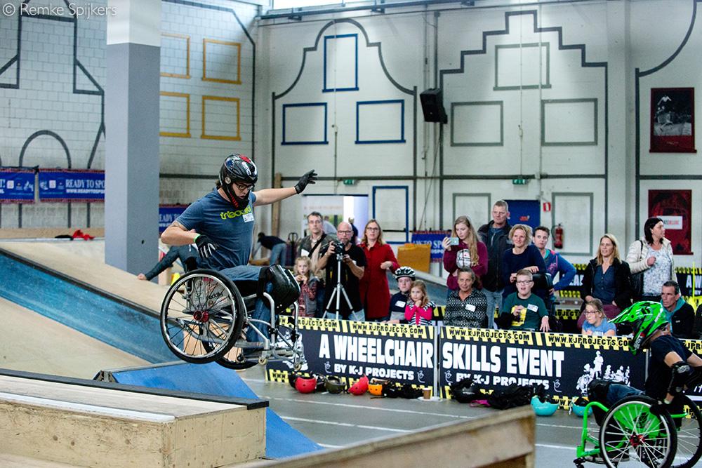 Wheelchair Skills Event 2017, Skatepark Utrecht