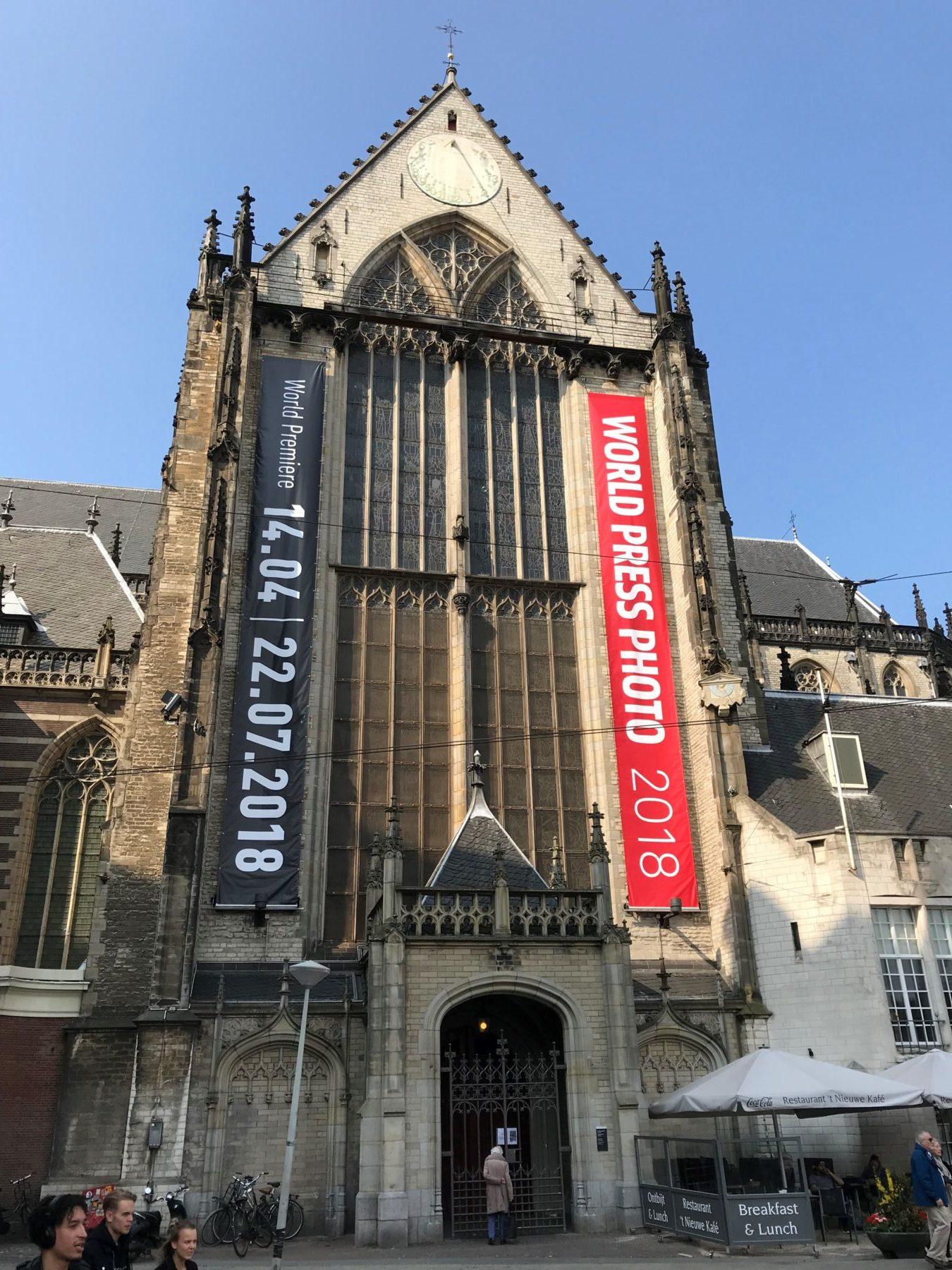 World Press Photo 2018   De Nieuwe Kerk, Amsterdam
