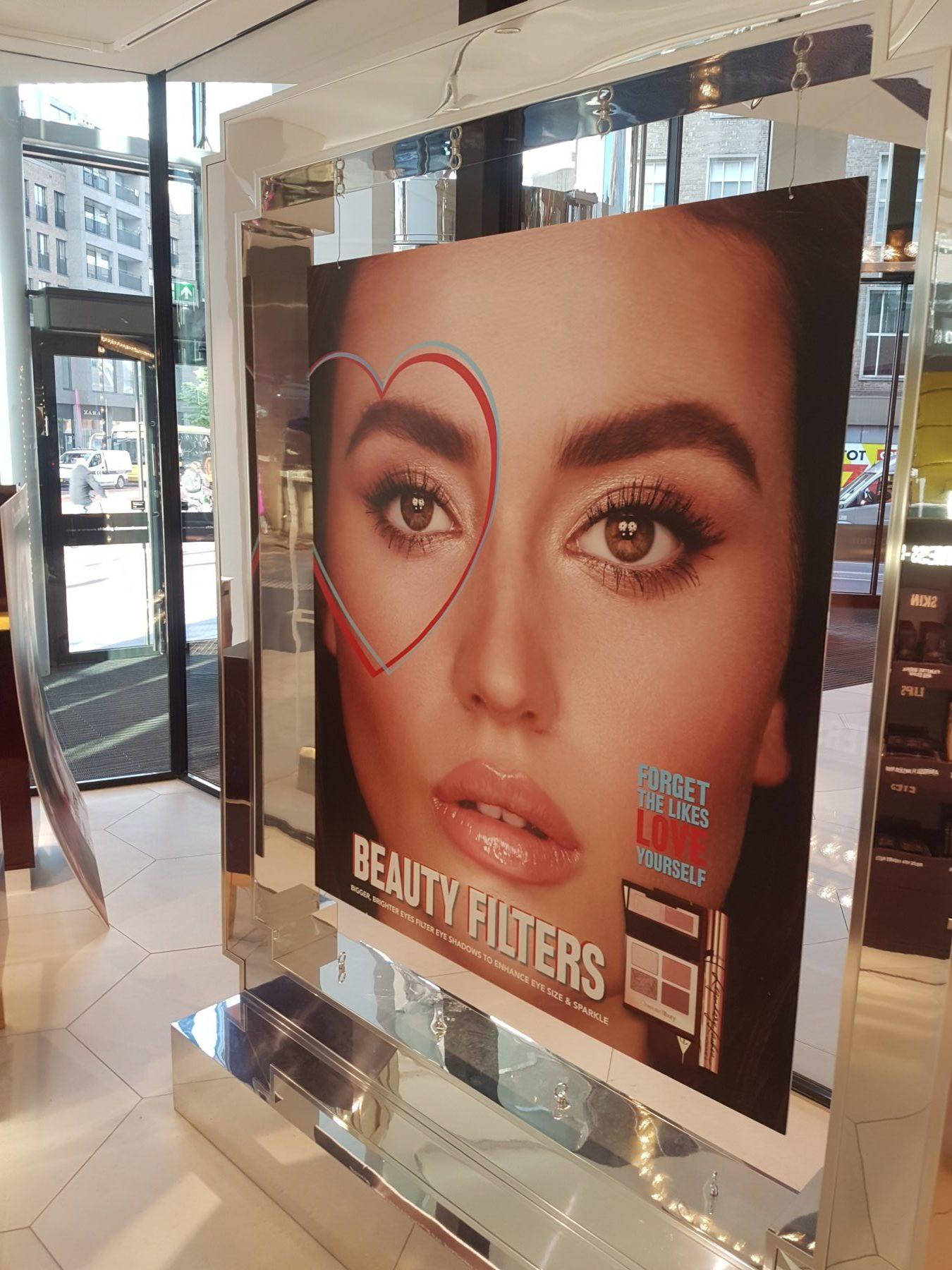 """Charlotte Tilbury, """"Bigger brighter eyes"""" campagne"""