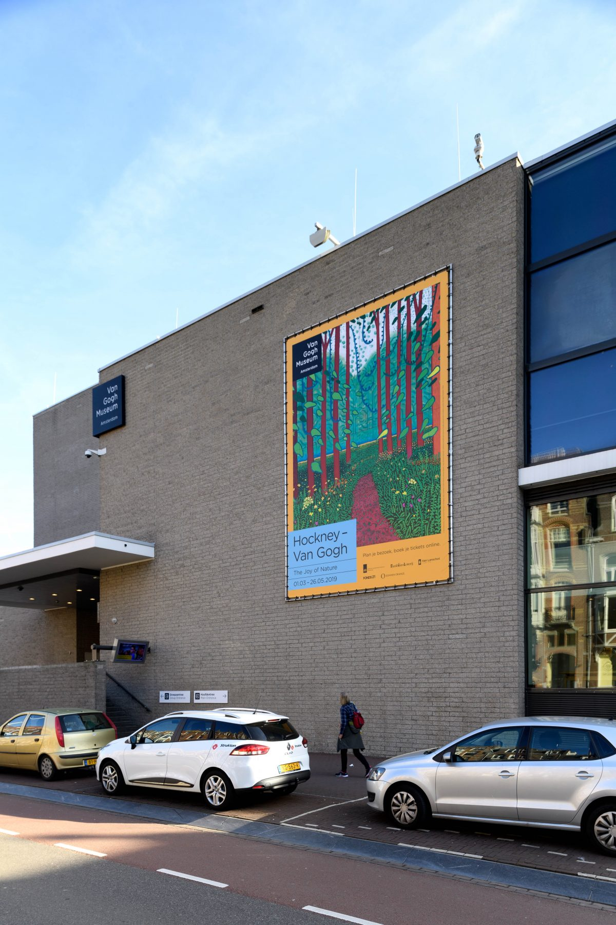 Van Gogh Museum | 'Hockney – Van Gogh: The Joy of Nature', Amsterdam