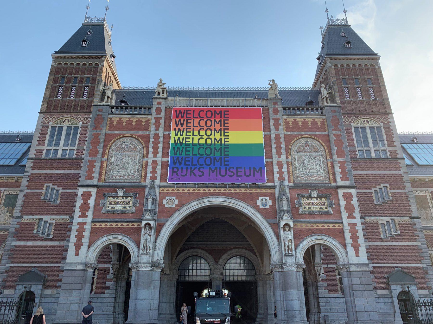 Rijksmuseum Geveldoeken Pride