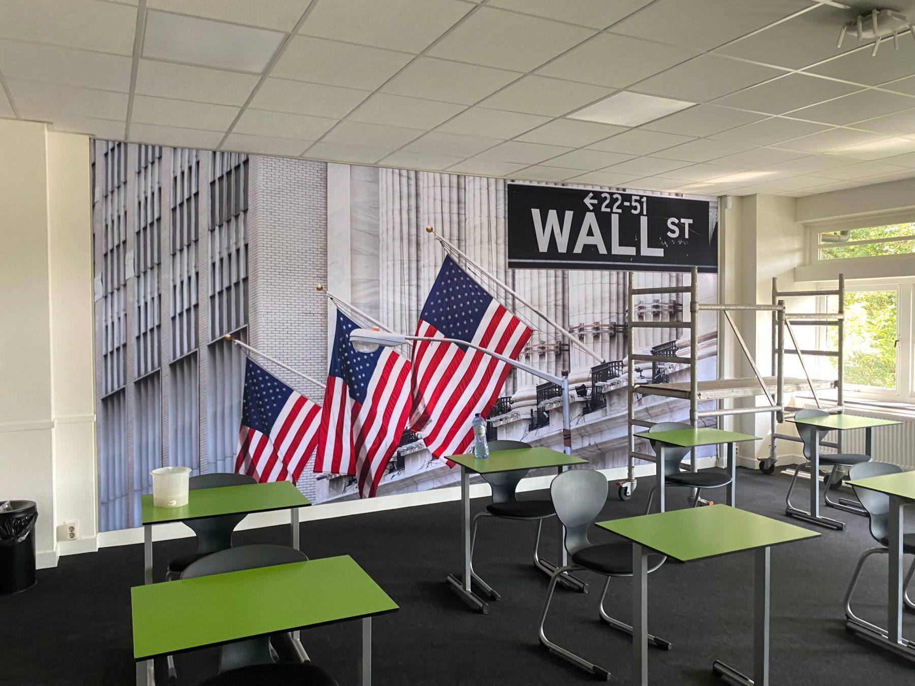 Wand Visuals bij een Hogeschool in Hengelo