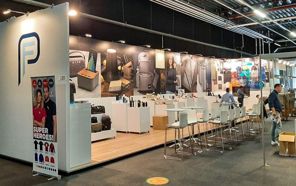 Stand aankleding Leveranciersdagen 2020, EXPO Houten