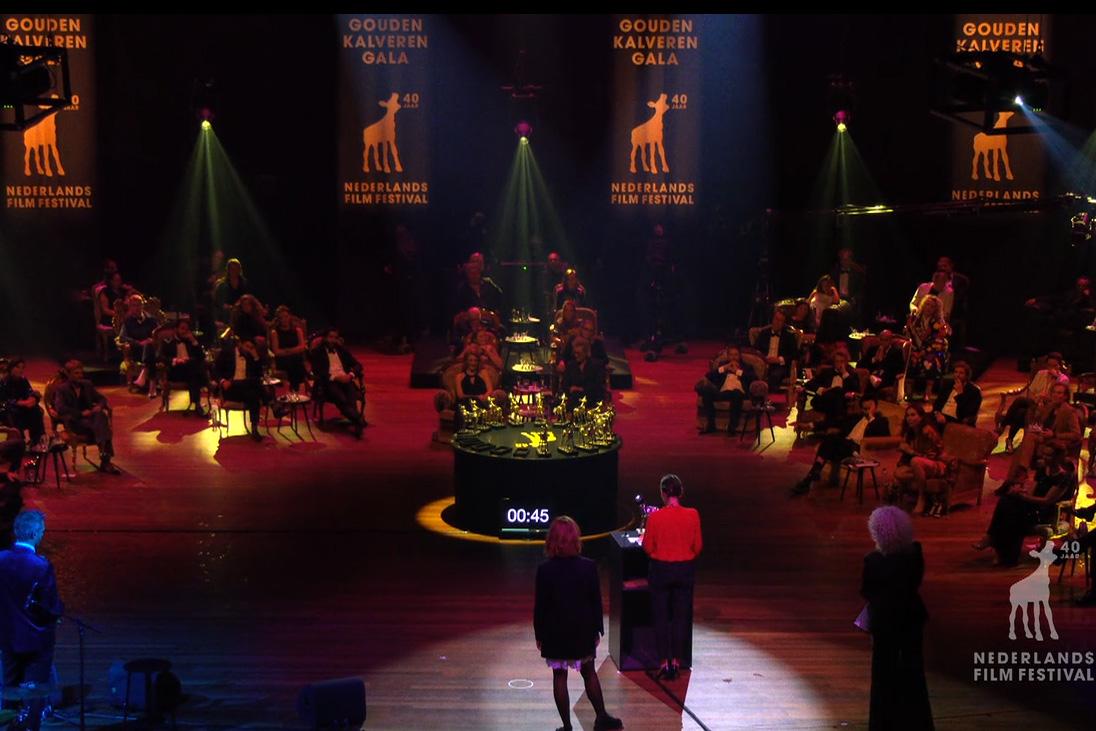 Uitreiking Gouden Kalveren, Nederlands Film Festival 2020 | Backdrops
