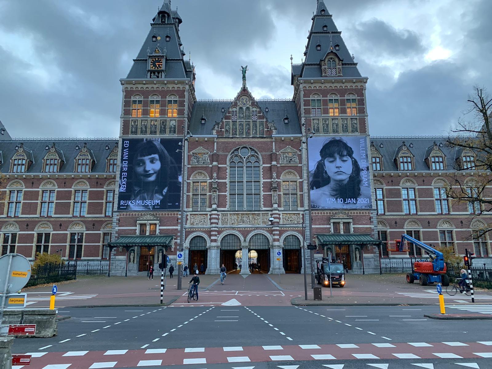 Rijksmuseum geveldoeken, Amsterdam